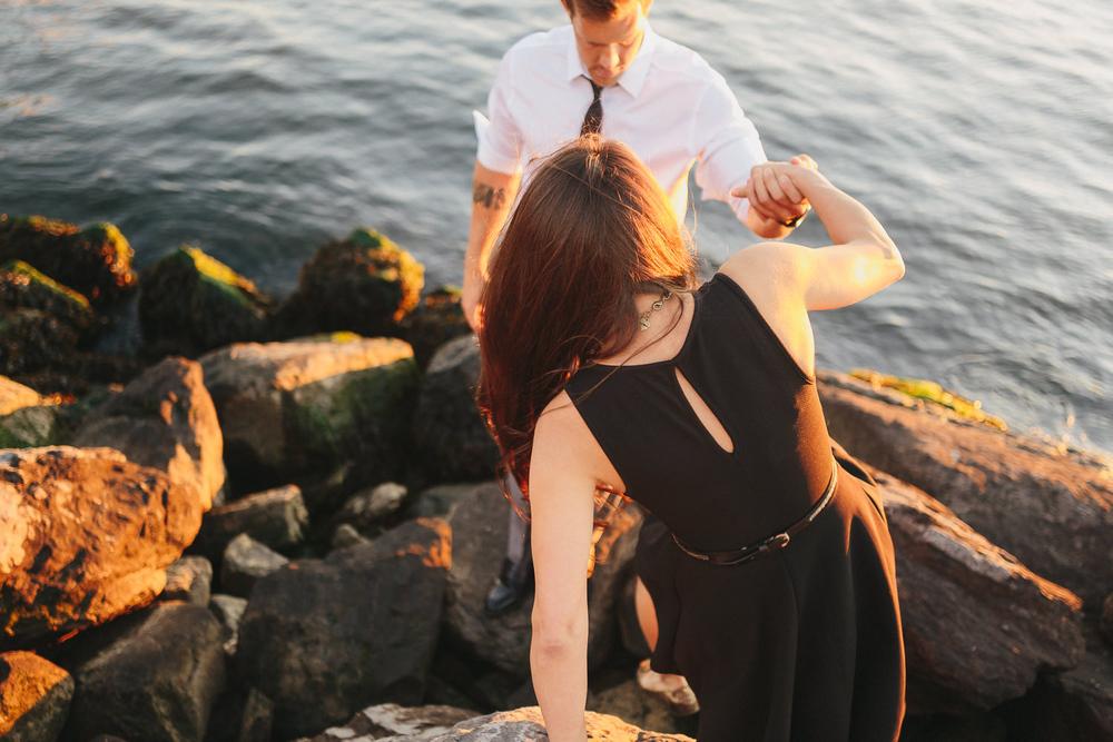 Kathryn & Jarrod's Brooklyn Heights Promenade Engagement