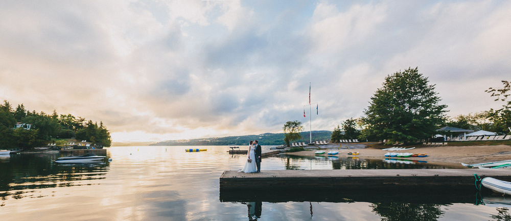 Chelsea and Quentin's Vermont Basin Harbor Club Wedding