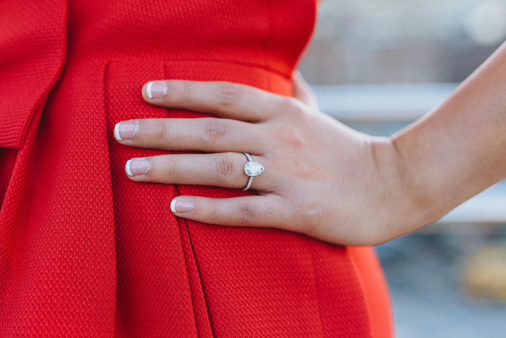Anna & Ben's Chic High Line NYC Engagement