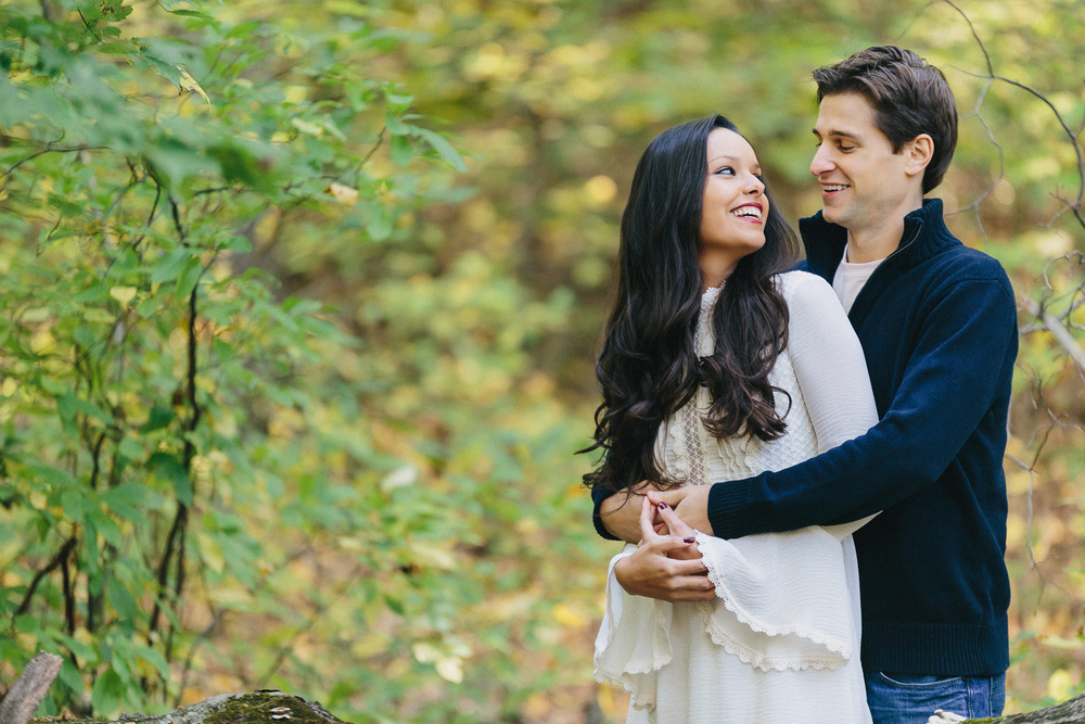 Maritza and Mark's High Rock Park Staten Island Engagement