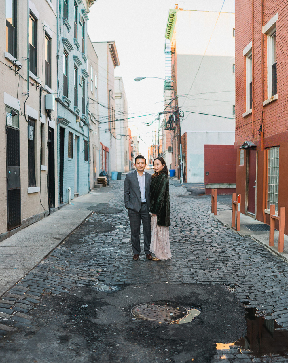 Gina & William Hoboken NJ Engagement