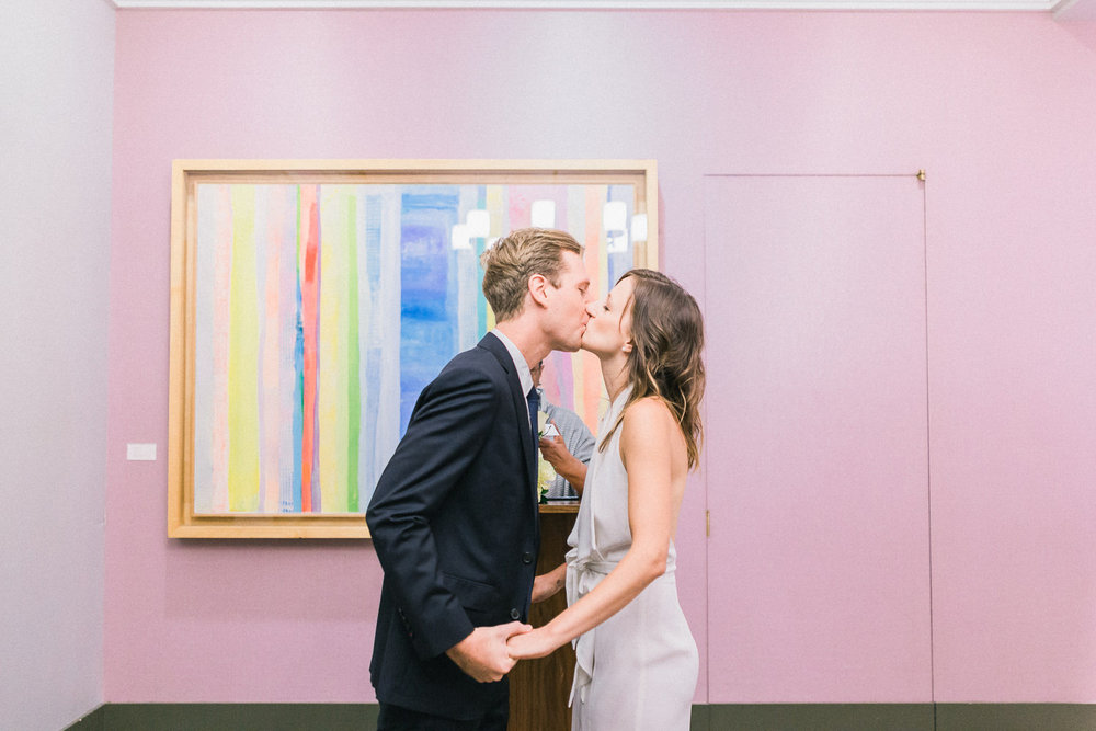Sanja & Chris' New York City Hall Elopement