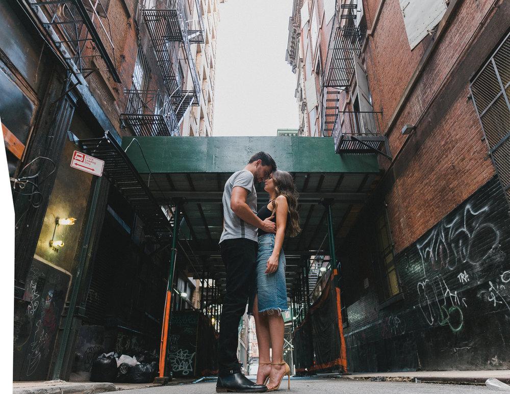 Nicole & Rohan's SoHo Engagement