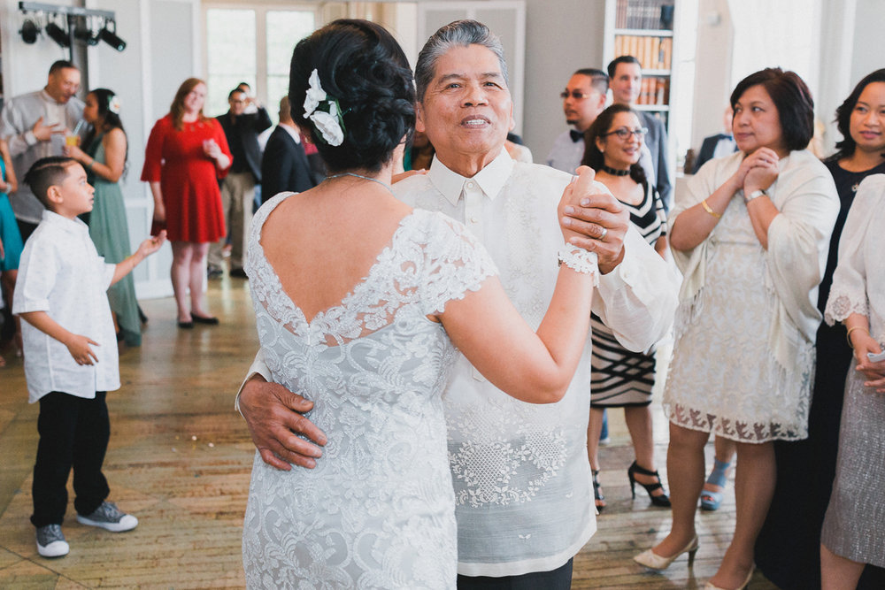 Elinore and Pedro's Metropolitan Building Wedding