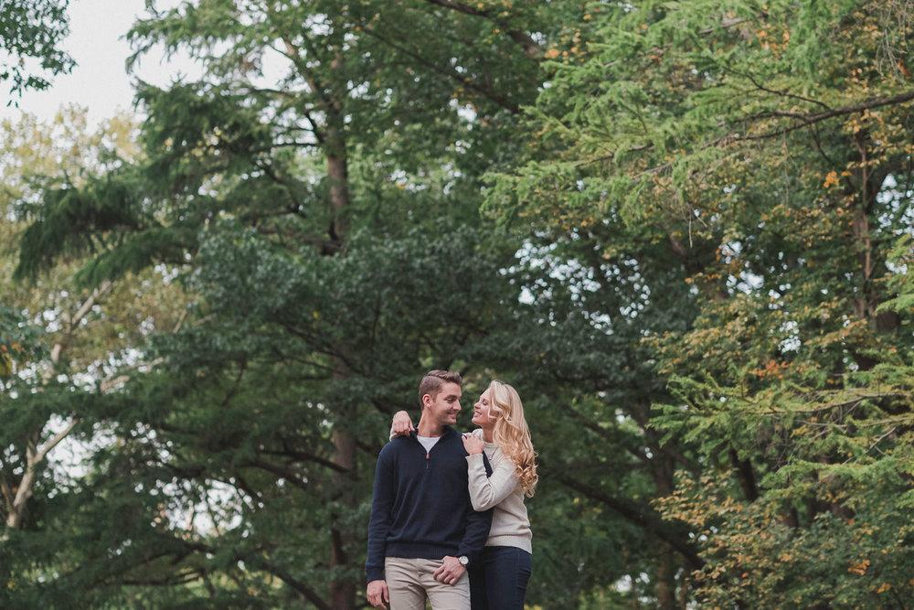 Kira & Pat's Central Park Engagement