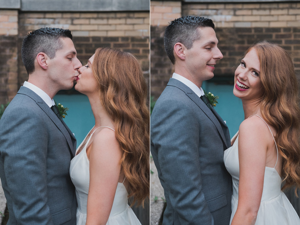 Emily & Mark's Columbus Park Refactory Chicago Wedding