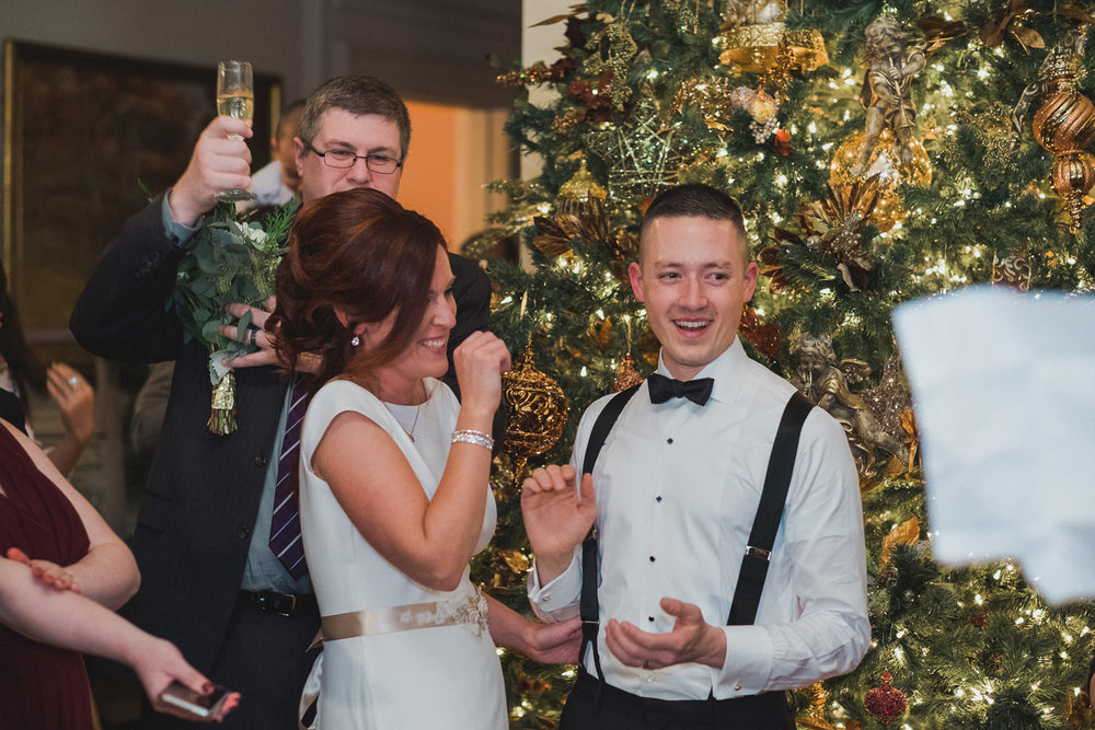 Meghan & Stanley's Christmas Cairnwood Estate Wedding