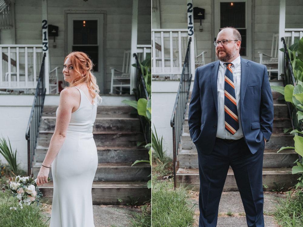 Hannah & Chris' JC Raulston Aroretum Elopement