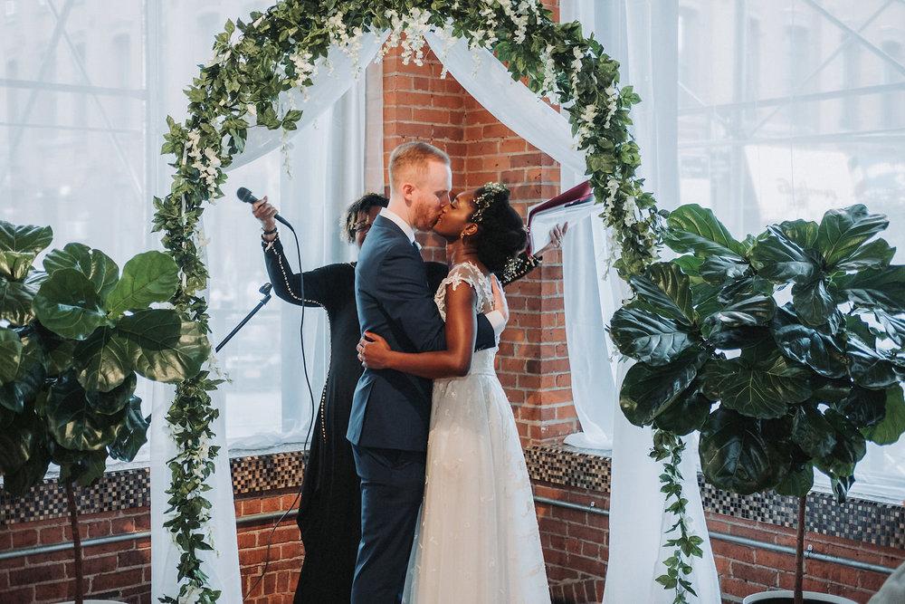 Mignonne & Eric's Intamite Dumbo Wedding