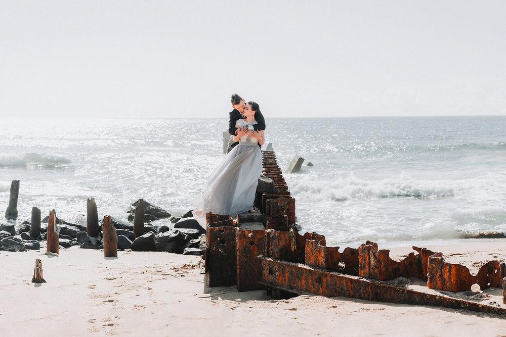 Hatteras North Carolina Beach Styled Elopement