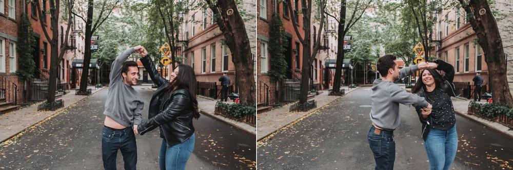 Amanda & Alex's Dumbo Engagement