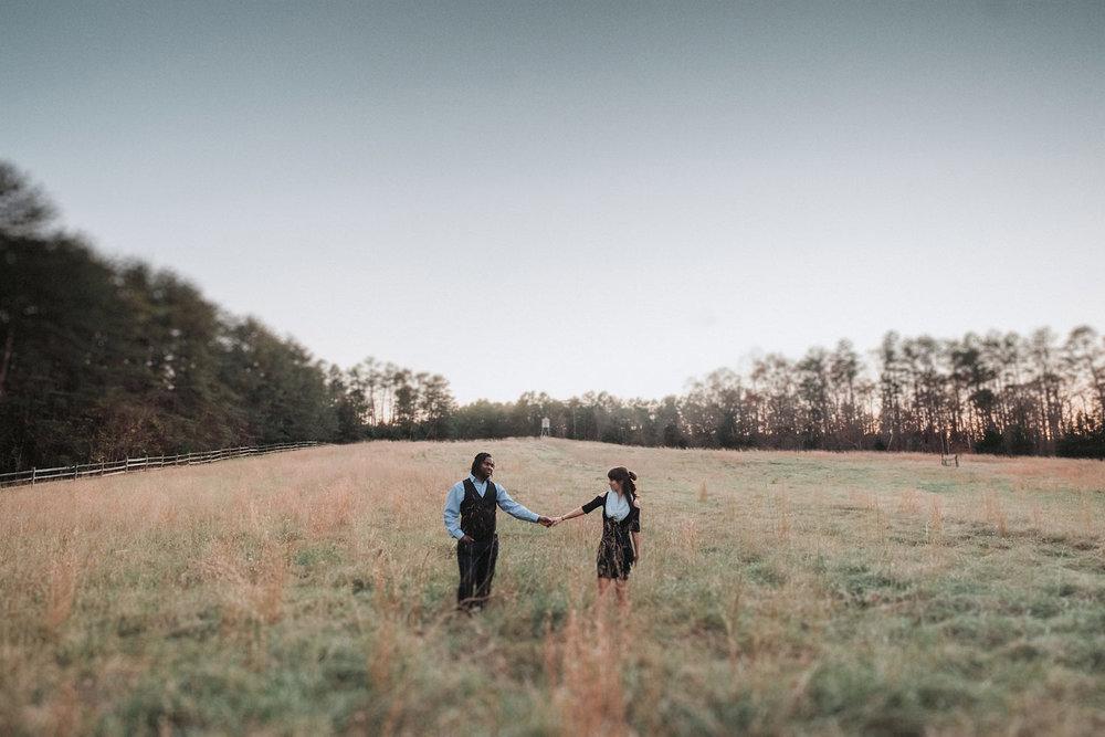 Miranda & Jeremy's Timberlake Earth Sanctuary Engagement