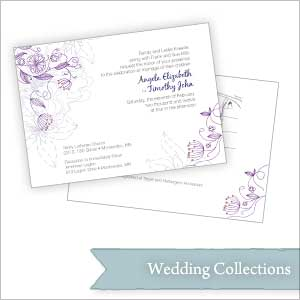 A collection of client wedding packages.