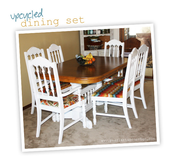 new to us' dining room table: diy — pearl: handmade art & design