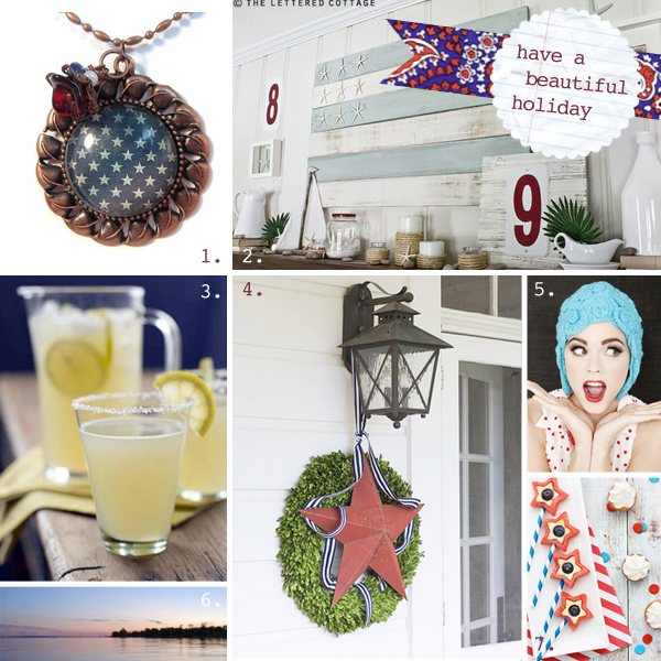 pearl: handmade art and design fourth of july holiday