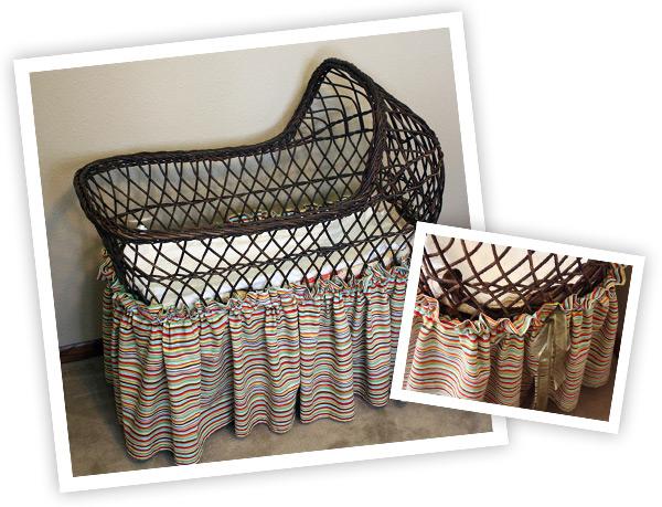 pearl handmade art and design, bassinet tutorial sewing, nursery design