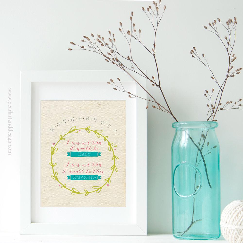 Motherhood Print