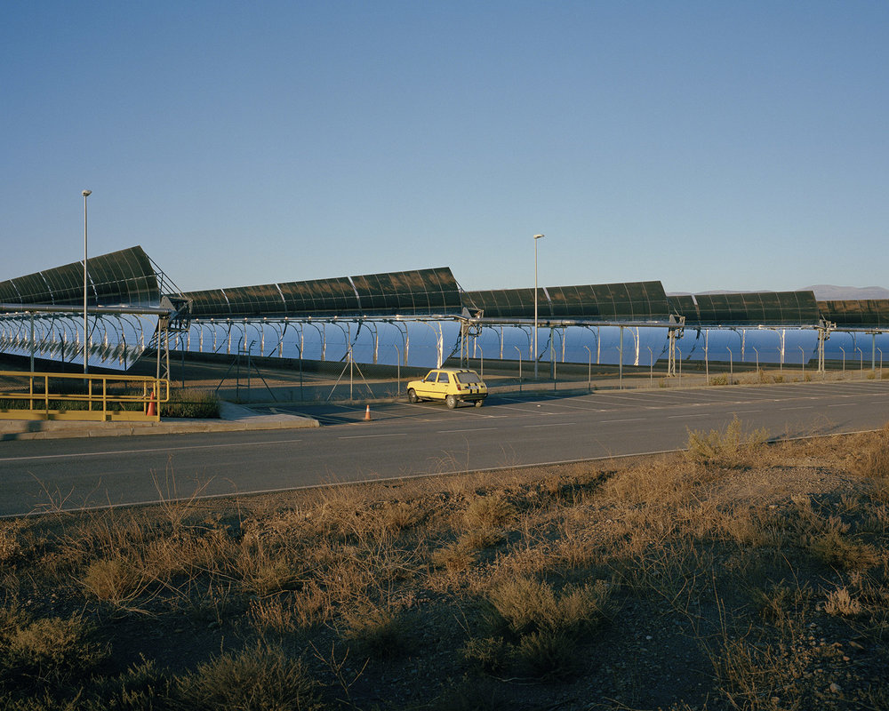 Solar plant, Andalucía