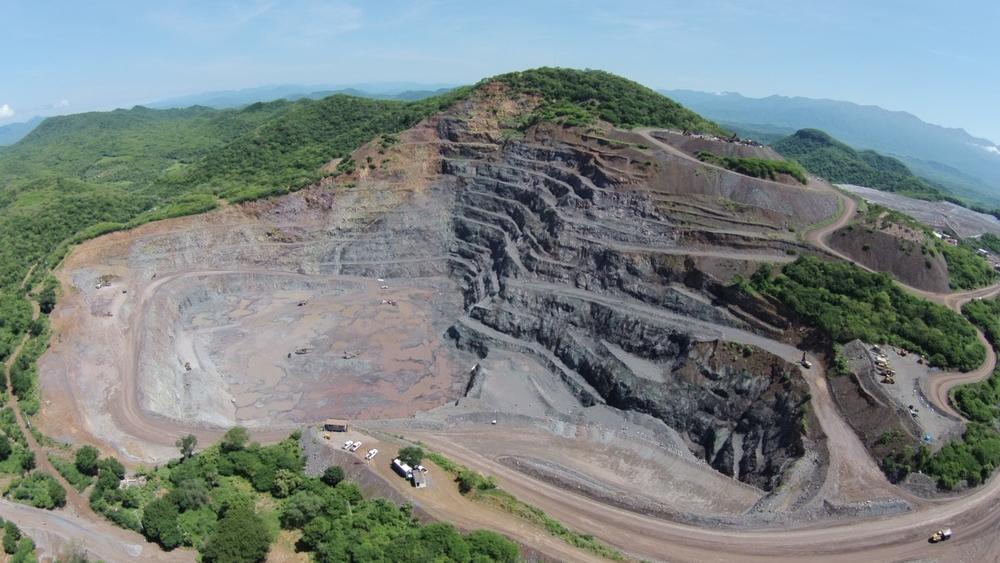 Mina El Gallo, Cortesía de  McEwen Mining . Todos los derechos reservados.