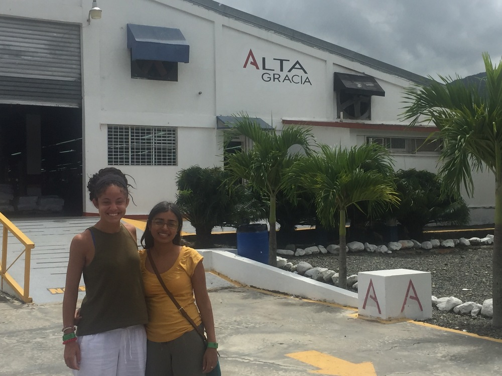 We were so excited to visit the Alta Gracia factory and meet with employees!