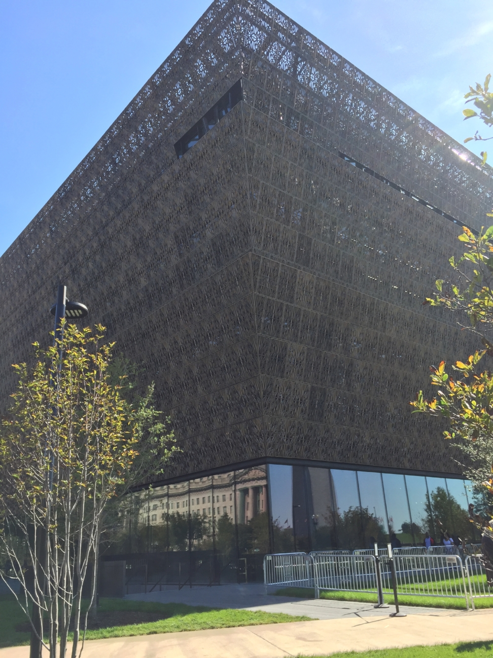 The newly opened National Museum of African-American History & Culture!
