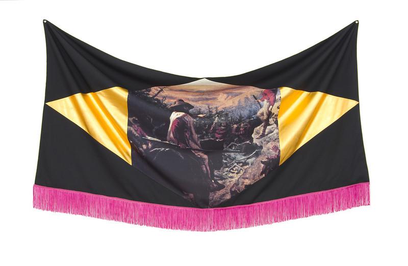 Bean Gilsdorf, Flag for Yonder,  2014