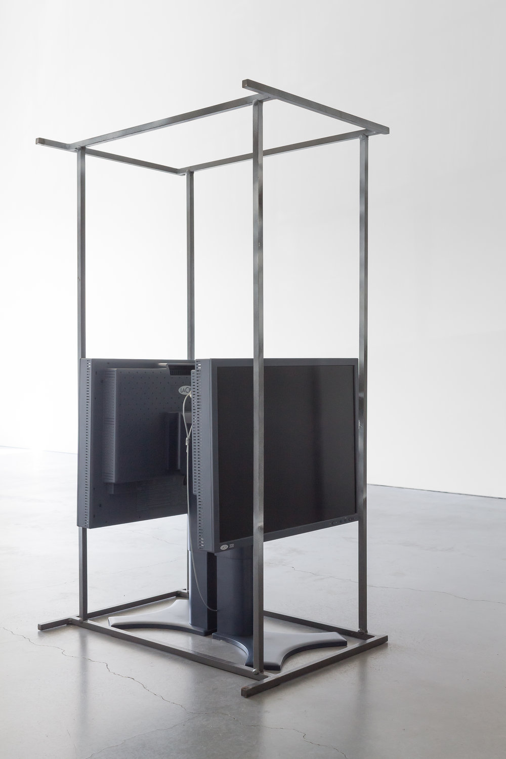 Kristine Eudey, Untitled (monitors), 2016
