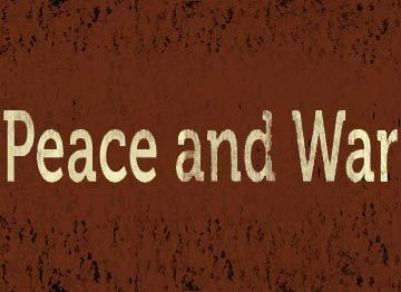 Peace and War 2013