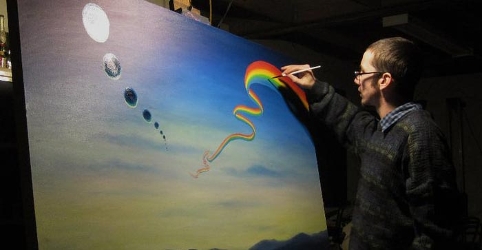 The Art of Live Painting  February 2012