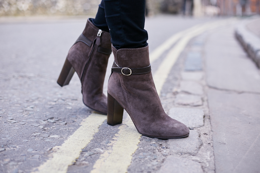 L.K.Bennett Brown Ankle Boots
