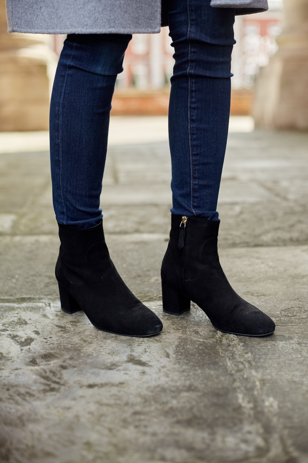 L.K.Bennett Suede Ankle Boots