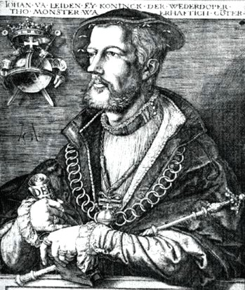 Jan Van Lieden, one of the characters chronicled in Hardcore History's The Prophets of Doom episode. Image: courtesy of Wikimedia Commons.