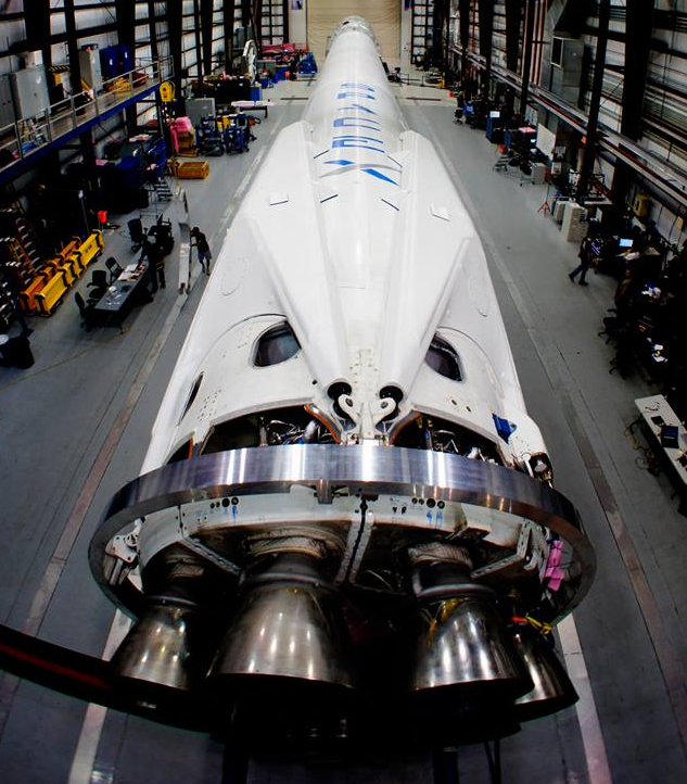 The SpaceX Falcon 9 is one of the most cost-effective launch vehicles in the world.  Image Credit: SpaceX