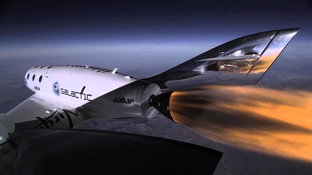 The Virgin Galactic SpaceShip Two.  Image Credit: Virgin Galactic