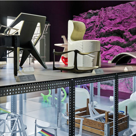 """Installation View, """" Panorama""""  by Konstantin Grcic  Courtesy  Vitra Design Museum , 2014"""