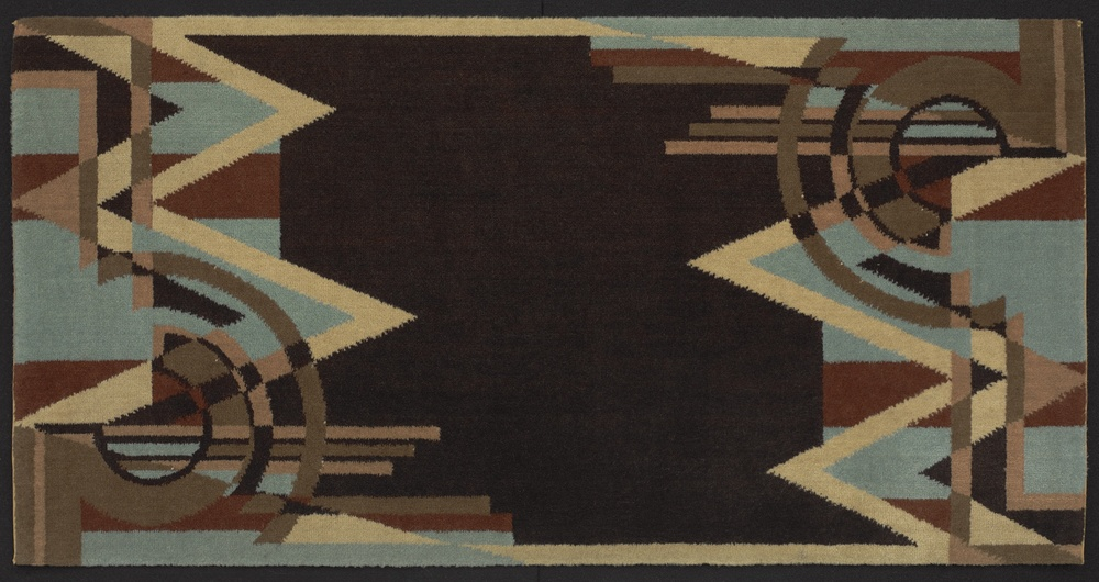 Rug , ca. 1928  Manufactured by Bigelow-Hartford Carpet Company  Yale University Art Gallery (2012.124.15)