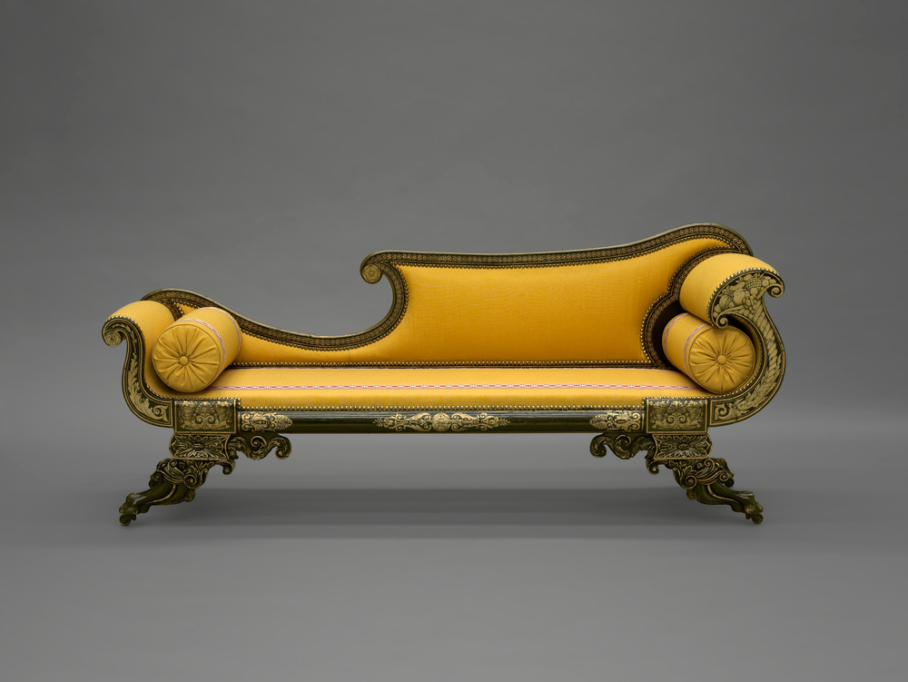 Couch , 1820-30  Yale University Art Gallery (1930.2622)