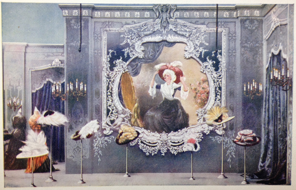 Display Window during Marshall Field's Autumn Exposition 1909