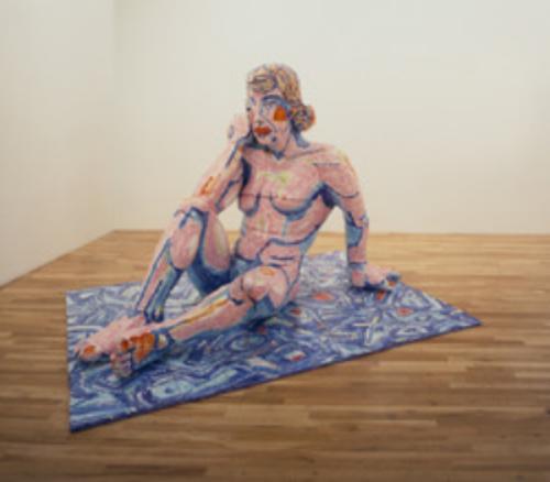 Pink Nude Woman , 1989  by Viola Frey  Yale University Art Gallery ( 2006.52.59)