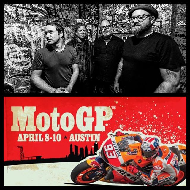 Hey all. We'll be playing at @cota_official for the @motogp race this Saturday at 11:40am. Come rock out if you're out there!