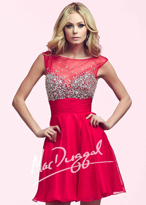 1bb1b5a8b51 Mac Duggal 64892. 338.00. Glamour is all yours in this glimmering homecoming  dress!