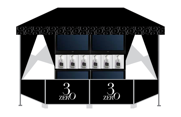 3ZERO Platinum modular bar