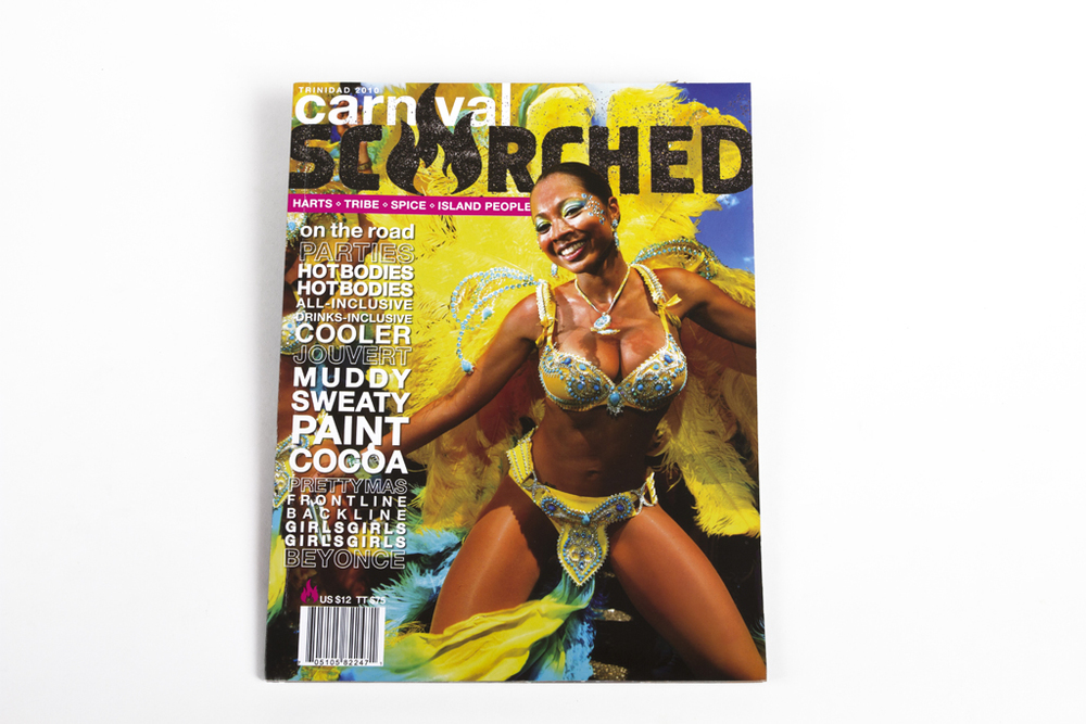 Carnival 'SCORCHED'  magazine