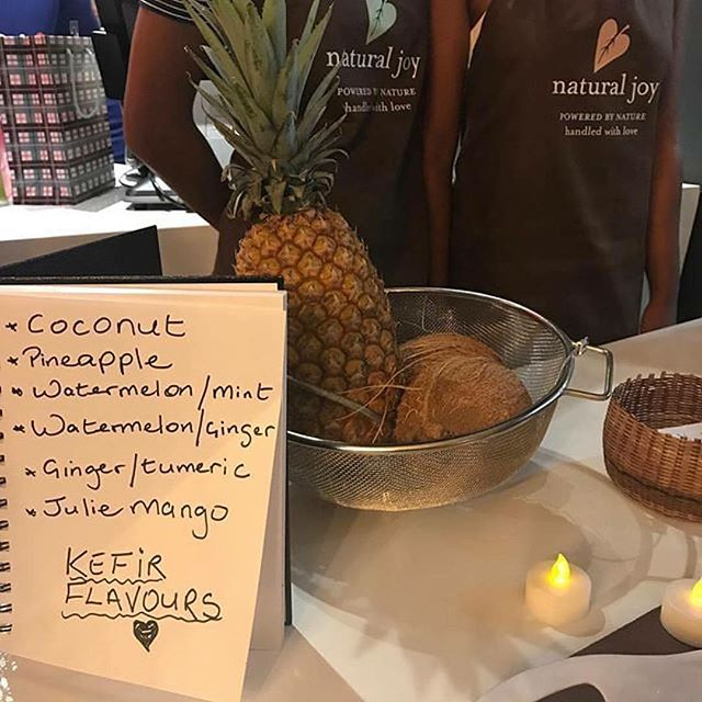Congrats to our client Natural Joy Botanicals @naturaljoybotanicals on the soft launch of their seasonal fruit kefir line last night!