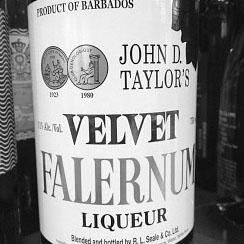 JOHN D. TAYLORS VELVET FALERNUM