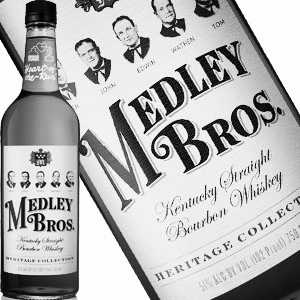 MEDLEY BROS. 102 KENTUCKY STRAIGHT BOURBON   |  Medley