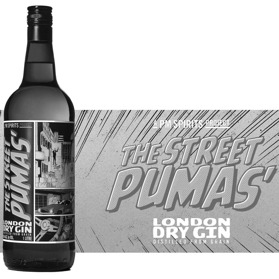 THE STREET PUMAS' LONDON DRY GIN  |  Scotland