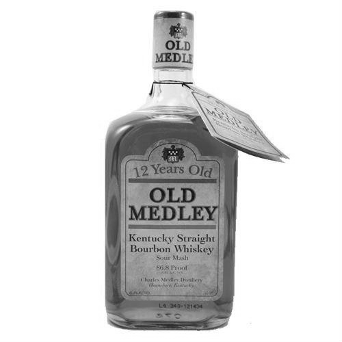 OLD MEDLEY 12 YEAR KENTUCKY STRAIGHT BOURBON   |  Medley