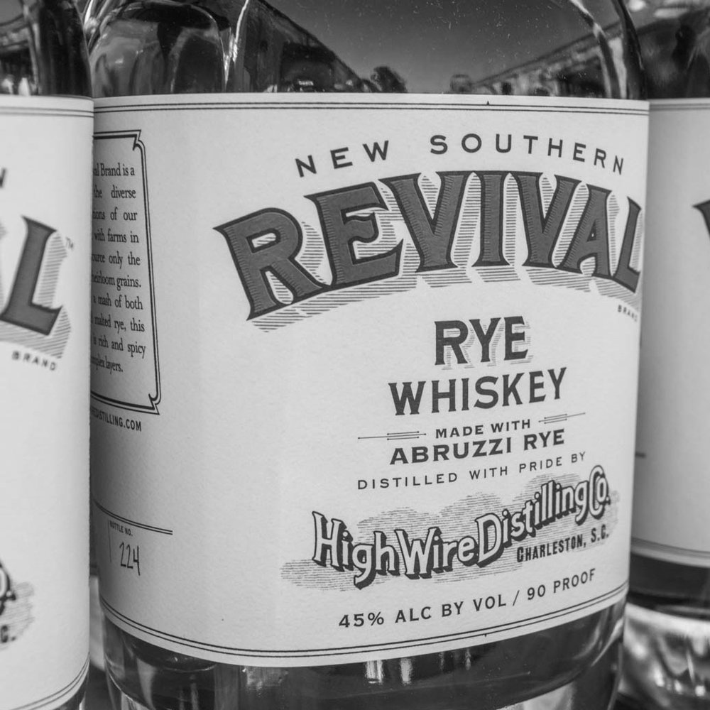 HIGH WIRE DISTILLING CO. REVIVAL RYE  | Charleston, SC