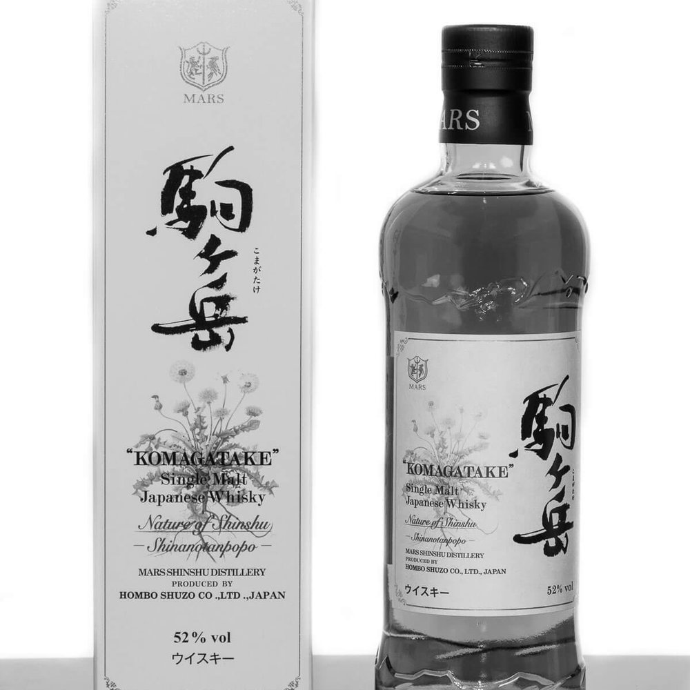 KOMAGATAKE SINGLE MALT NATURE OF SHINSU SERIES  | Mars